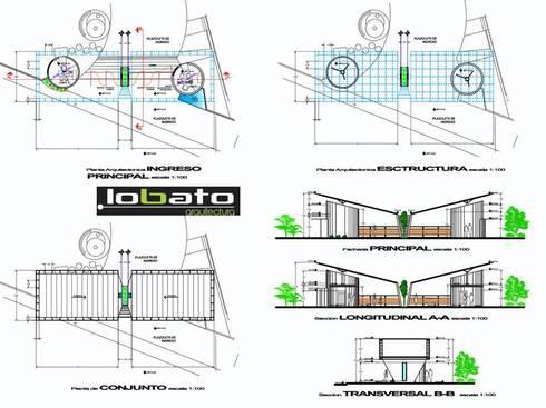 Propuesta :  de estilo  por Lobato Arquitectura