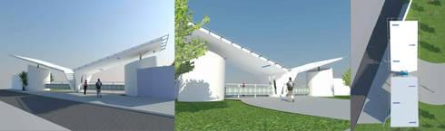 Propuesta Fachada :  de estilo  por Lobato Arquitectura