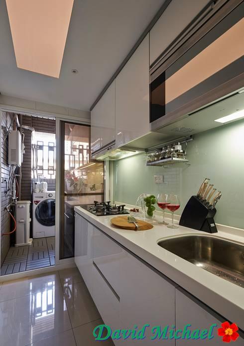 【潘朵拉的珠寶盒-上集】:  廚房 by 大衛麥可國際設計工程有限公司