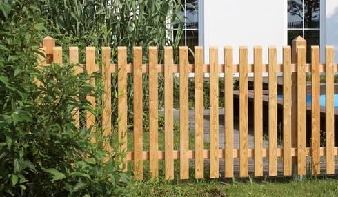Rustikale Gartenzäune gartenzäune meingartenversand de homify