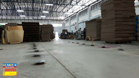 ฐานรับเครื่องตัดพับกล่องกระดาษ จ.เชียงใหม่:   by บริษัทเข็มเหล็ก จำกัด