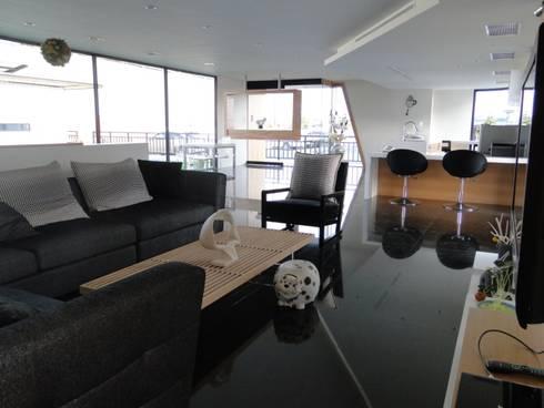 環保概念館:  房子 by 石方室內裝修有限公司