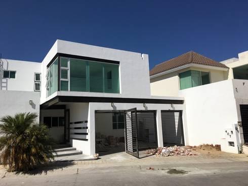 Estado original : Casas de estilo ecléctico por HF Arquitectura