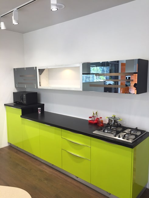 Residential projects: modern Kitchen by Antarangni Interior p ltd
