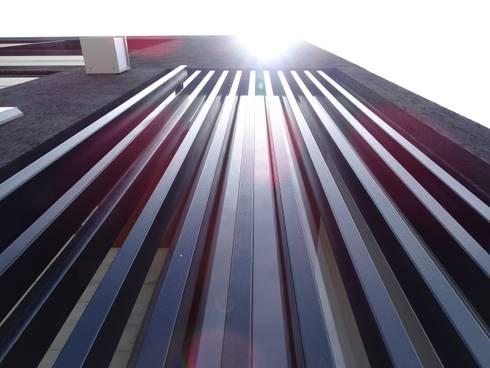 CASA NARANJOS : Ventanas de estilo  por Novhus Oficina de Arquitectura