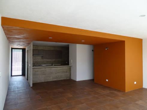 CASA NARANJOS : Cocinas de estilo moderno por Novhus Oficina de Arquitectura