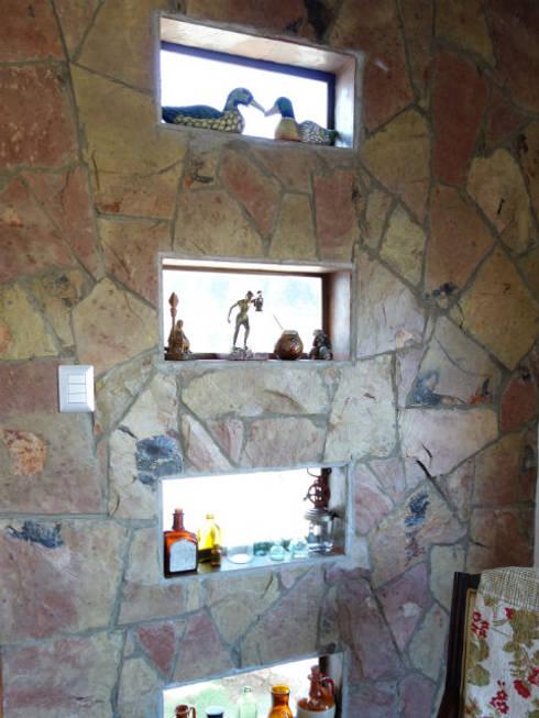Vivienda L52 Fundo Loreto, La Serena.: Livings de estilo  por Territorio Arquitectura y Construccion