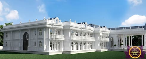 The best exteriors design of architect Katrina Antonovich: asian Houses by Luxury Antonovich Design