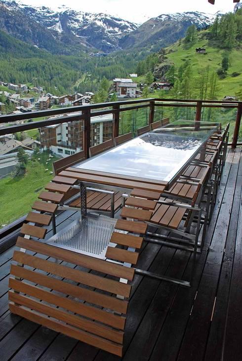 Balcones y terrazas de estilo  por PALMAR arredi