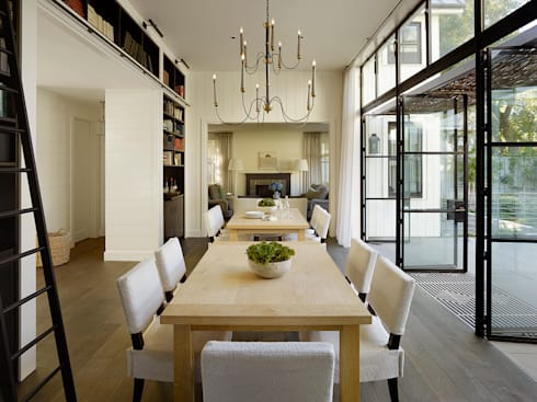 The Grange: classic Dining room by Feldman Architecture