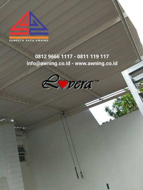 lovera atap buka tutup:   by Semesta Raya Awning