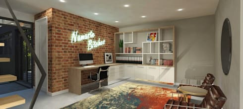 Study:   by Holloway and Hound architecture and interiors