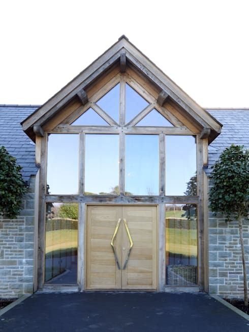Forty Farm : country Houses by IQ Glass UK