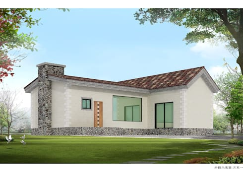 3D外觀:  房子 by 綠藝營造