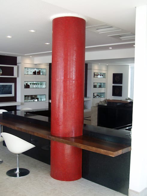 غرفة السفرة تنفيذ Repsold Projetos e Design