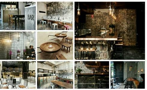 Restaurant Design:   by Bevel Interior Design