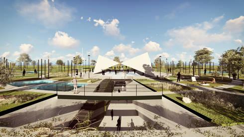 Plaza:  de estilo  por gOO Arquitectos