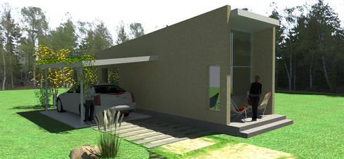 Casa de huespedes cordoba argentina de arquitectura for Casas feng shui arquitectura