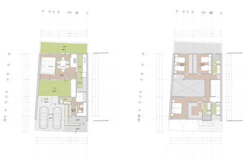Plantas tipo.:  de estilo  por Studio de Arquitectura y Ciudad