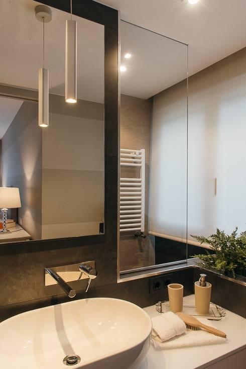 Reforma dormitorio con ba o y vestidor de lucia parga - Reforma de cuarto de bano ...
