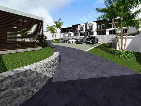 Proyecto Cristo : Casas de estilo minimalista por HC Arquitecto