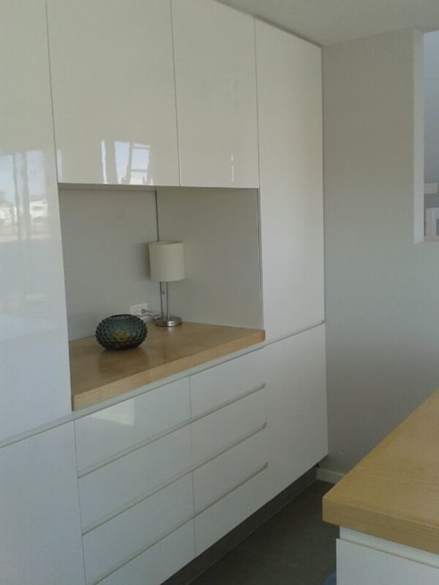 Interior, cocina: Cocinas de estilo minimalista por Vila Suárez