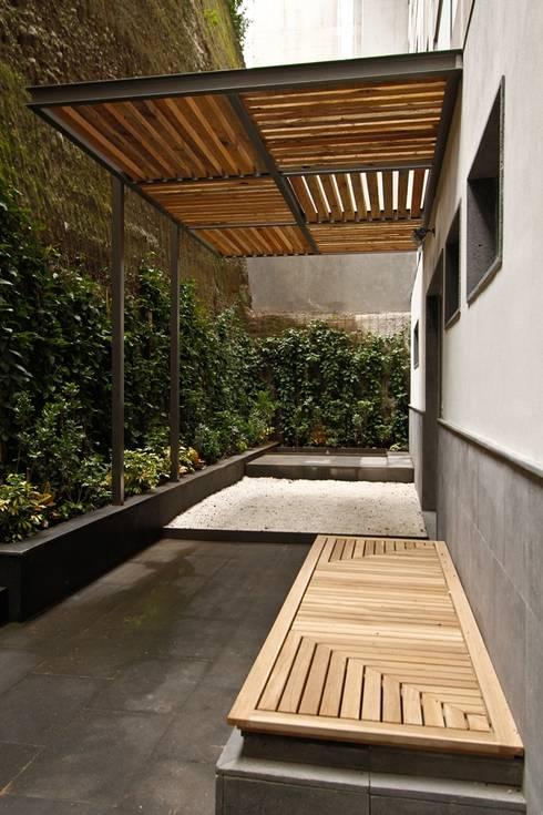 Terrazas de estilo  de Mobiliario y Equipo MEE