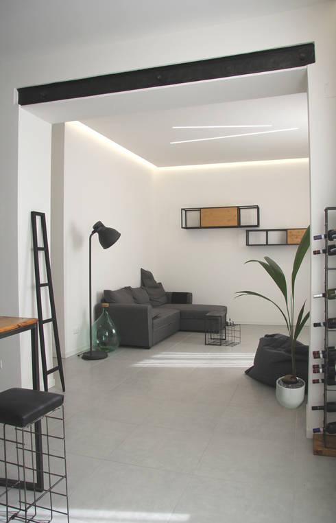 Appartamento fb ristrutturazione e interior design di for Appartamento interior design