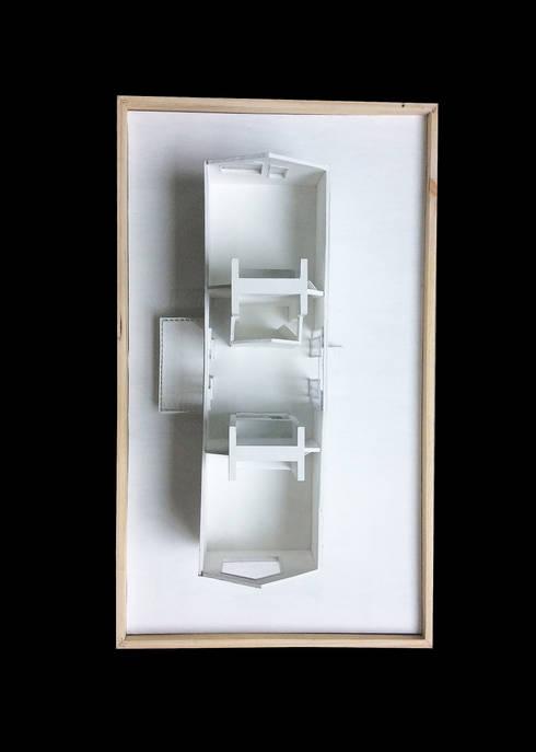 Prototipo Extend _ Viviendas Refugio 27-47-67: Casas de estilo  por tresarquitectos