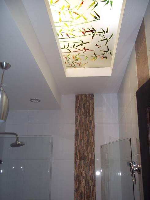 Baño moderno:  de estilo  por Omar Interior Designer  Empresa de  Diseño Interior, remodelacion, Cocinas integrales, Decoración