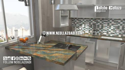 Cocinas de estilo moderno por NCollazoADI