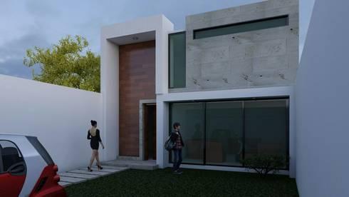 Fachada principal: Ventanas de estilo  por Architektur