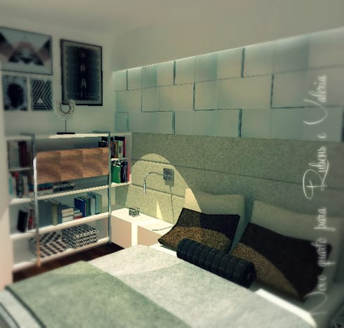 Dormitorio Matrimonial:  de estilo  por A3 Interiors
