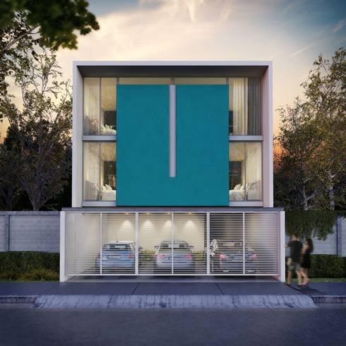 Edificio Departamentos : Casas de estilo  por ARQMA Arquitectura & Diseño