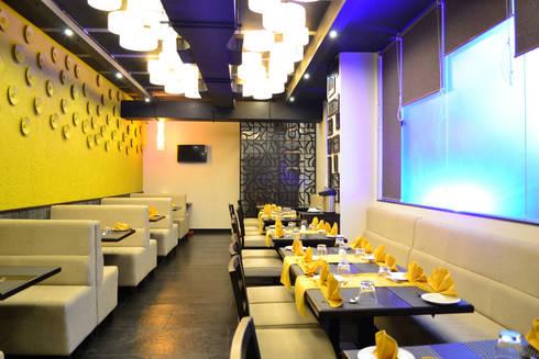 Masemari Chinjabi Restaurant:  Bars & clubs by ogling inches design architects