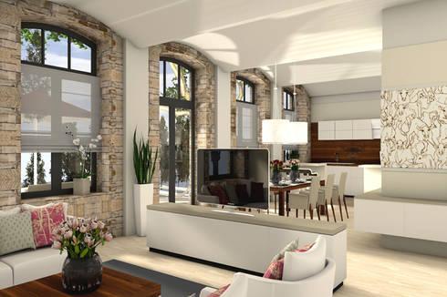 Loftwohnungen exklusive innenarchitektur lichtdesign von for Innenarchitektur leipzig
