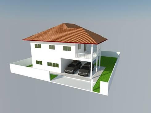 บ้านคุณชมพูนุช:   by Home Base Construction