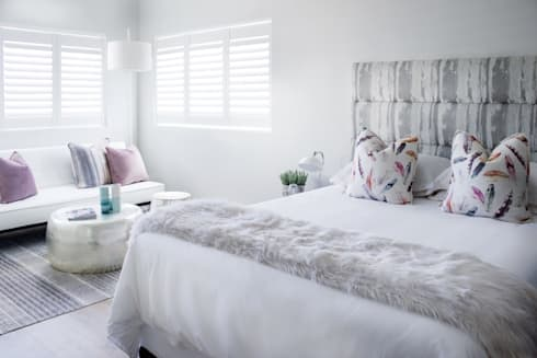 Guest bedroom 1: modern Bedroom by Salomé Knijnenburg Interiors
