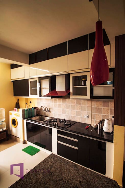 Kitchen Front-Side:  Kitchen by Asense