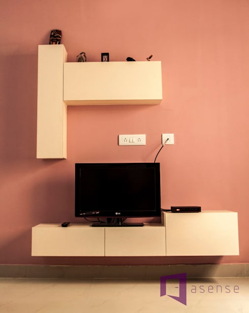 Entertainment Unit:  Multimedia room by Asense
