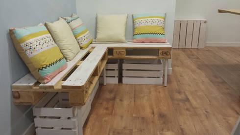 Fabricaci n de muebles de madera natural ntegro para tienda en matar barcelona de mind made - Fabricacion de muebles de madera ...