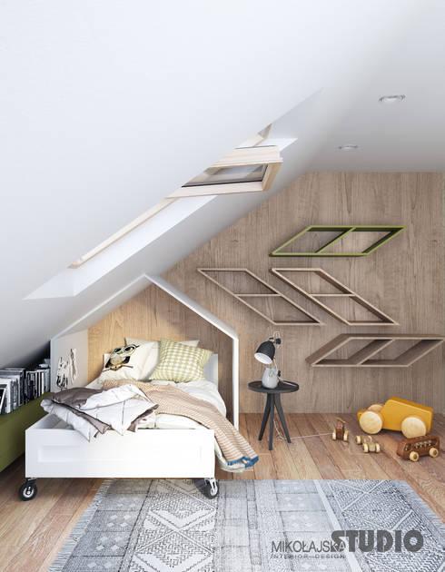 Gemutliche Schlafnischen Unter Dachschragen