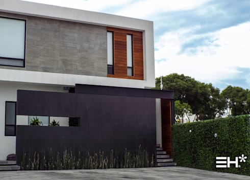 Casa Lago Cuitzeo: Casas unifamiliares de estilo  por Estilo Homes