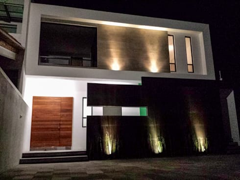 Casa Lago Cuitzeo: Casas de estilo minimalista por Estilo Homes