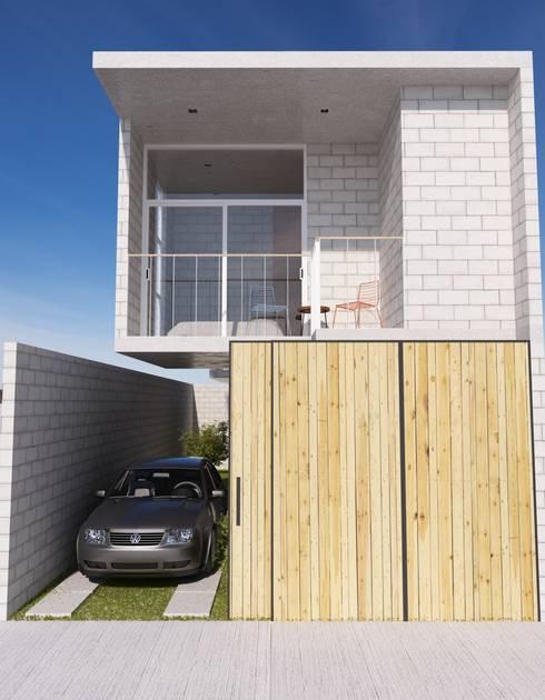 Casa ismael de estudio tresuncuarto homify for Casa moderno kl
