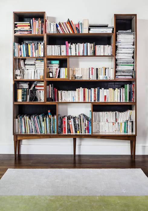 Book Shelf Box: modern Study/office by Wood'n design