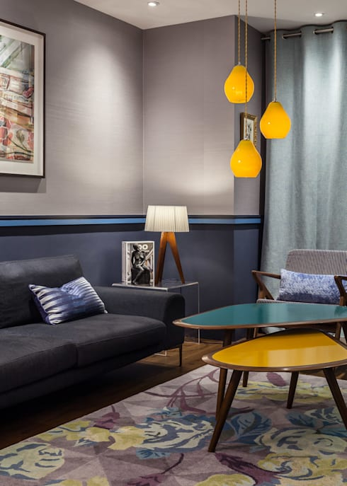 Scandinavian coffee table & lounge : modern Living room by Wood'n design