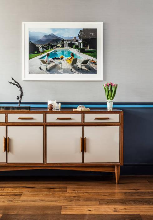 Projekty,  Salon zaprojektowane przez Wood'n design