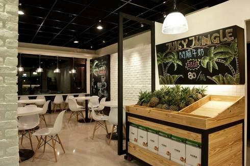 水果叢林-Juicy Jungle:  辦公室&店面 by 七輪空間設計
