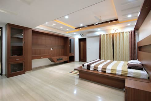 Interior Decoration: modern Bedroom by The Inner Story